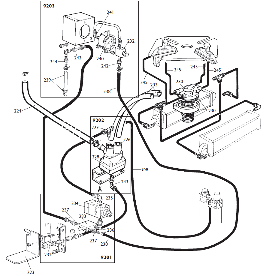 Forklift Hyster E60xm2 Wiring Diagram 33