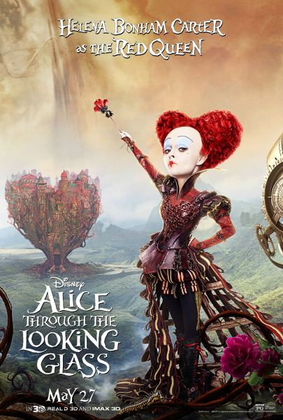 Iracebeth The Red Queen Cosplay     Montreal Comic Con 2016 Alice Through the Looking Glass poster Red Queen