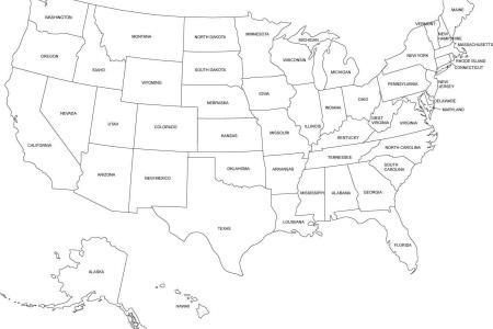 mapa de estados unidos en blanco » [HD Images] Wallpaper For ...