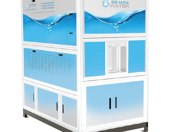 EW 1000 - Creates 1,000 liters of water each day, to serve up to 500 people