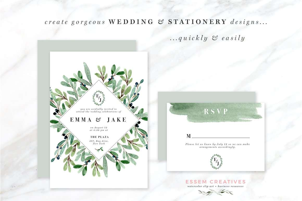 Custom Wedding Invitations Kits