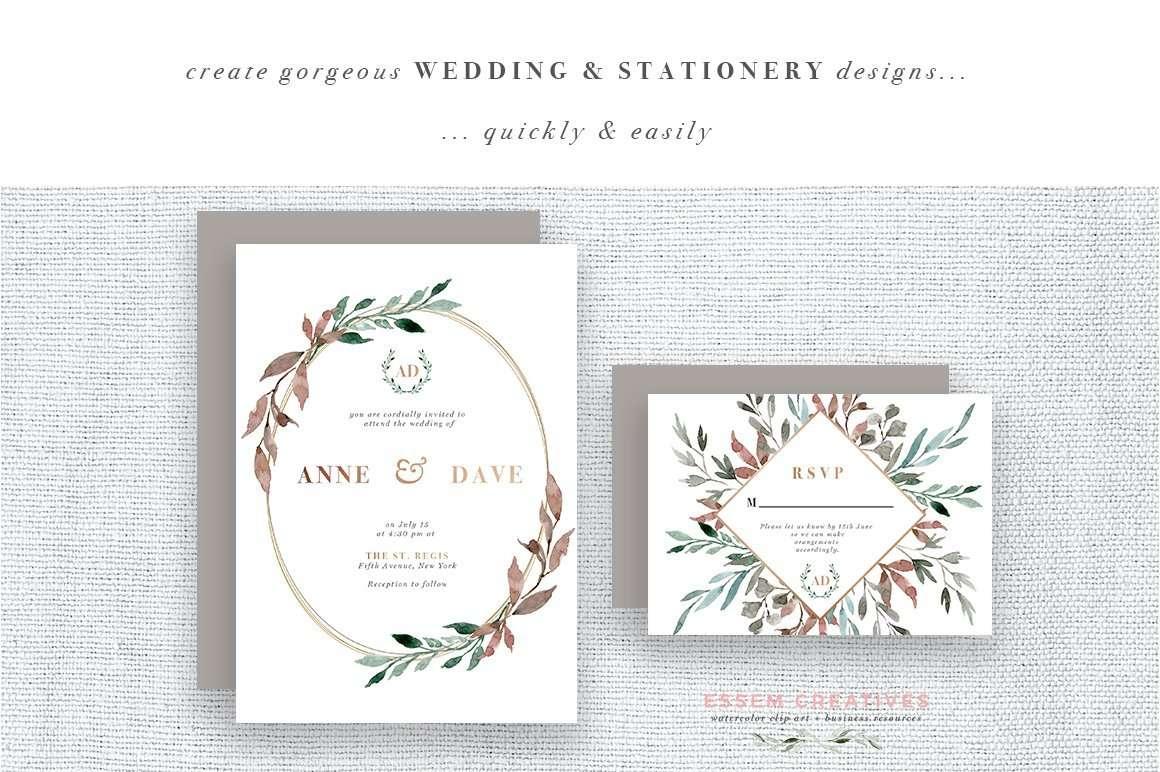 Fall Wedding Stationery