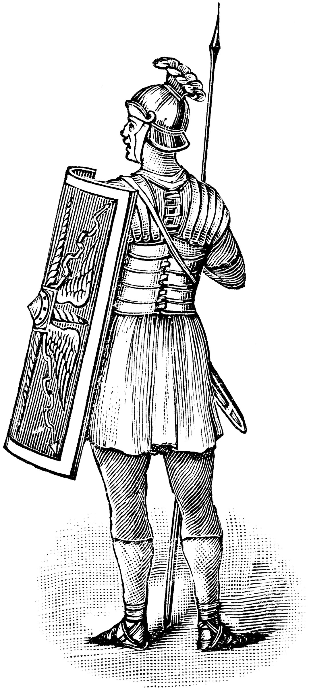 Roman Soldier Clipart Etc