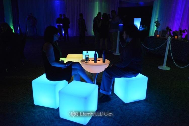 Led Furniture Rentals Light Up Glow Furniture Eternity