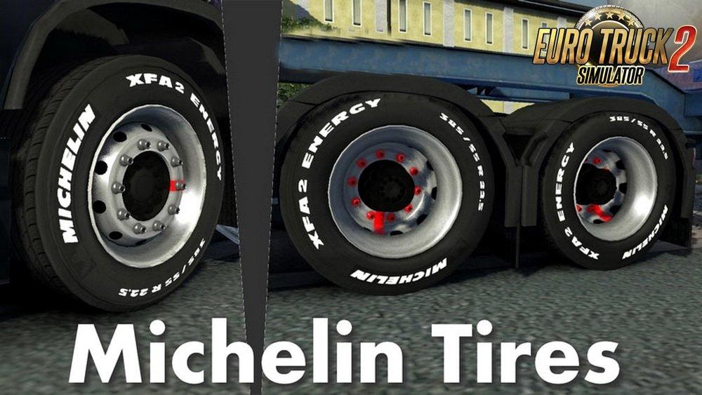 Michelin Tires For All Trucks V1 0 1 30 X Ets2 Mods