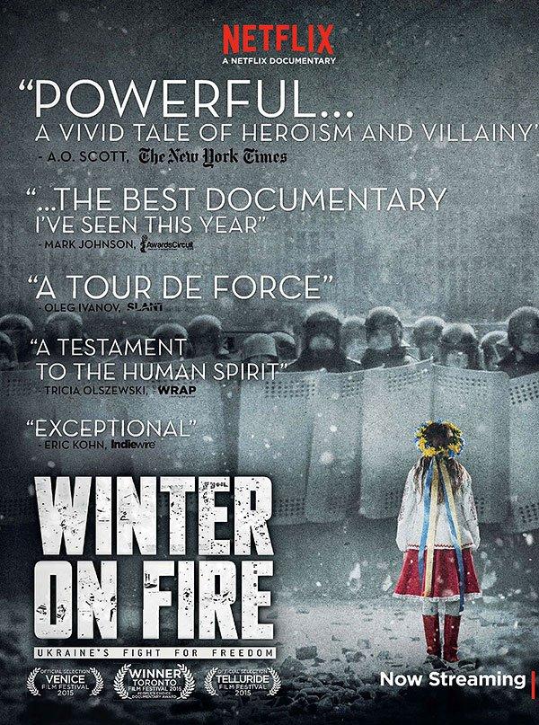 Winter On Fire Oscar Worthy Documentary On Ukraine S