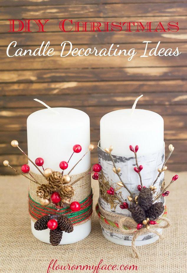 Simple Christmas Table Centerpiece Ideas