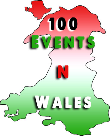100 Events around Wales