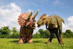 Jurassic Dinosaurs in the Park @ Margam Country Park