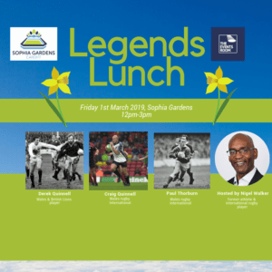 St Davids Day Legends Lunch