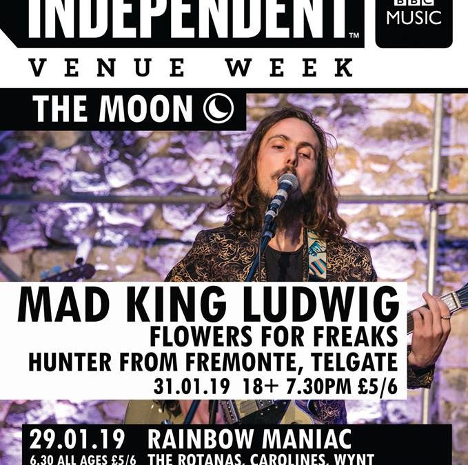Independent Venue Week: MAD KING LUDWIG at The Moon