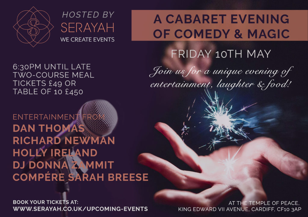 Cabaret Evening of Comedy and Magic