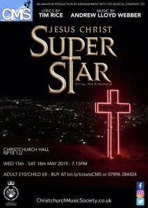 Jesus Christ Superstar from CMS Newport @ Christchurch Hall