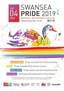 Swansea Pride 2019 @ National Waterfront museum