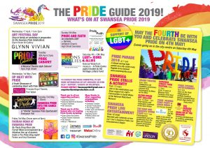 Celebrations and Events for Swansea Pride 2019 @ Various
