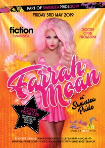 Farrah Moan At Swansea Pride @ Fiction