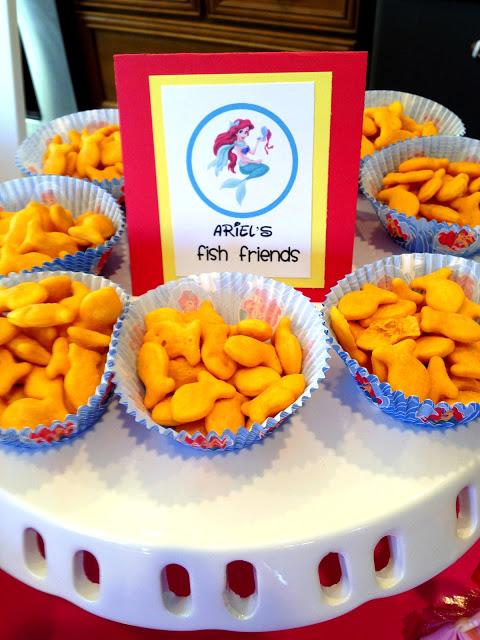 Thanksgiving Snack Goldfish