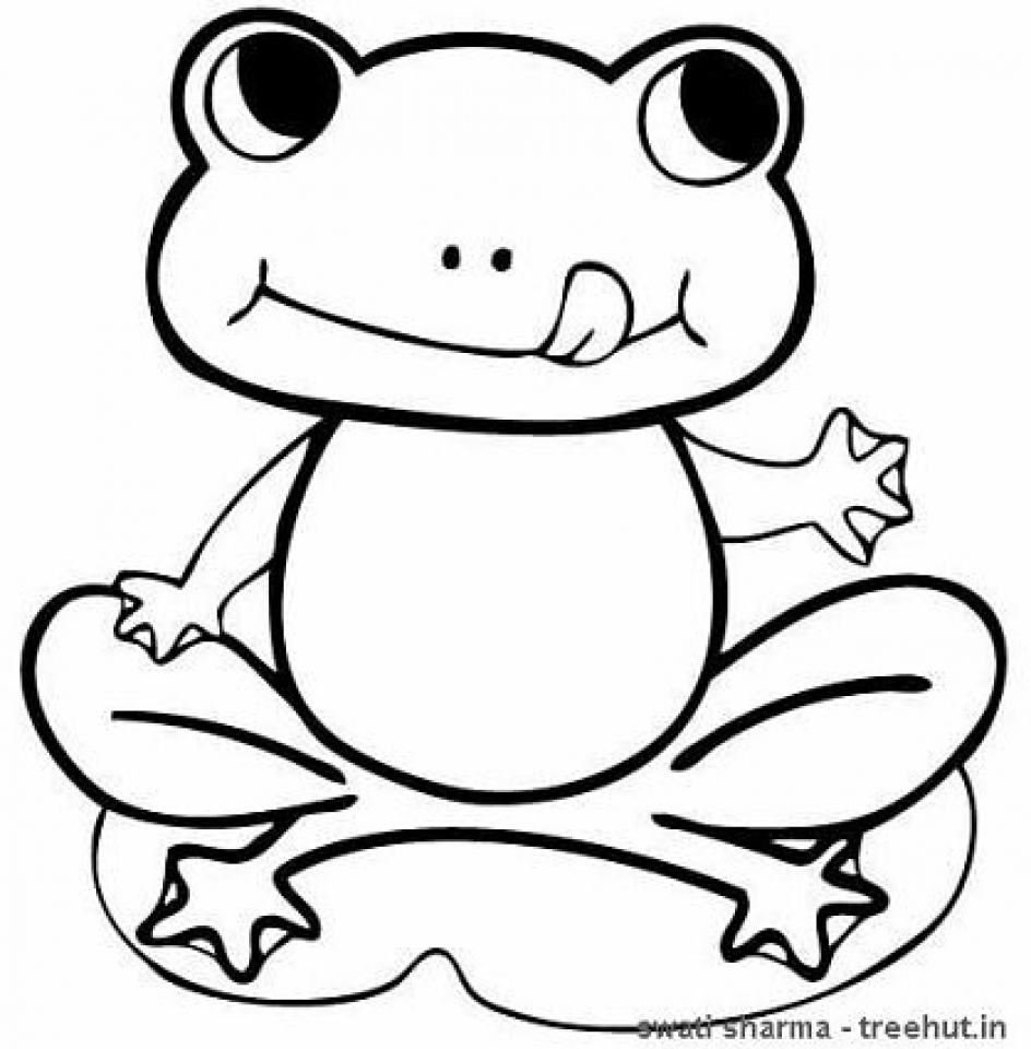 20+ Free Printable Frog Coloring Pages - EverFreeColoring.com