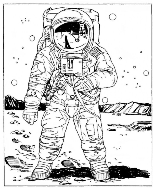 space coloring page # 21