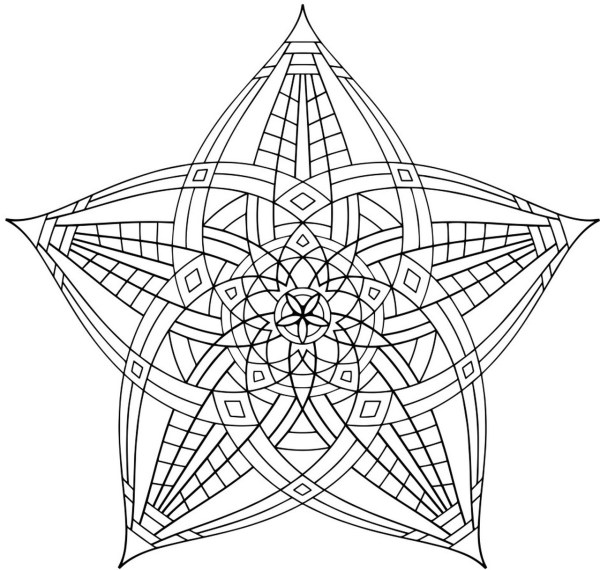 geometric coloring page # 50