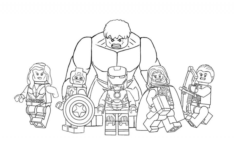 Thanos Avengers Infinity War Coloring Pages