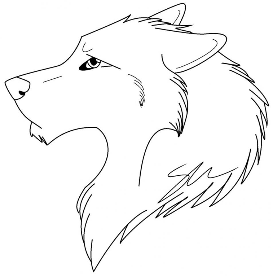 Get This Wolf Coloring Pages Free Printable 96732