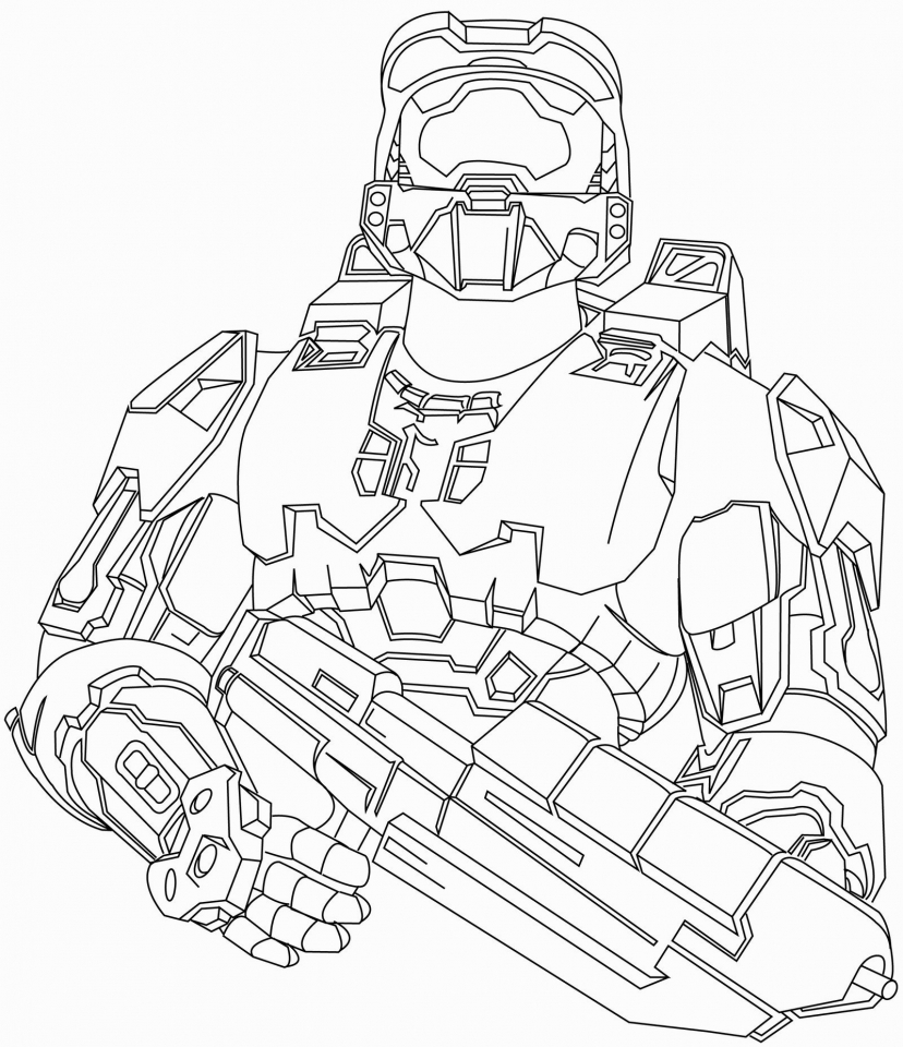 Free Coloring Pages Download Get This Halo Printable For Boys 6ahhj Of