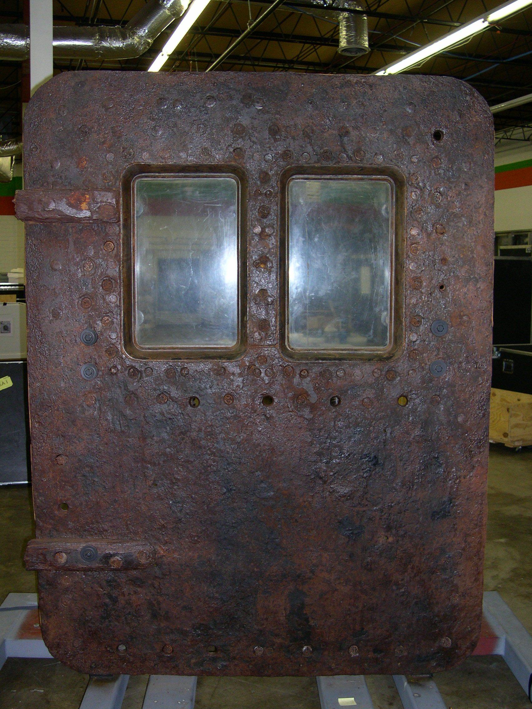 Rms Titanic D Deck Door Evergreene