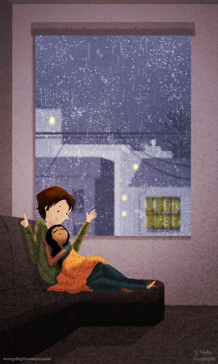 Everyday Love Art Of Nidhi Chanani Rain Song Prints