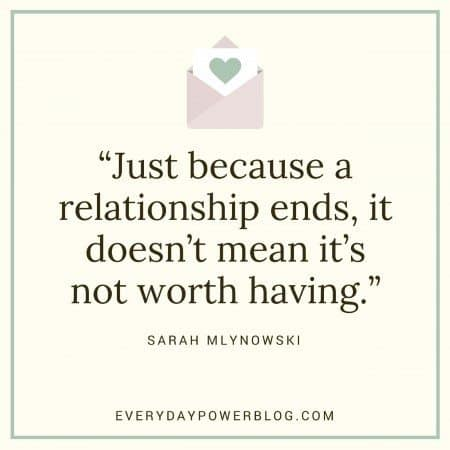 Image of: Sayings Breakup Quotes Not Worth It Everyday Power 120 Break Up Quotes To Help You Heal Move On 2019