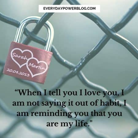 Image of: True Love Quotes Itsbloggerintimecom 80 Deep Love Quotes To Express How You Really Feel 2019