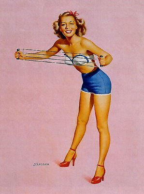 How To Get a Pin-Up Girl Body
