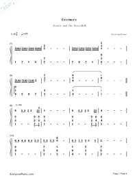 beauty and the beast chords # 22