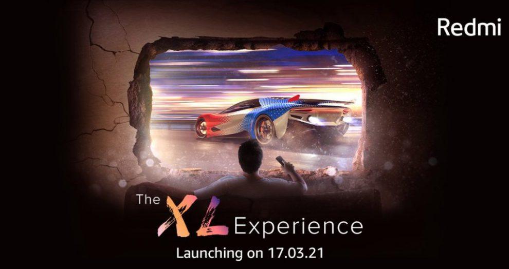 Redmi TV India launch teaser 1