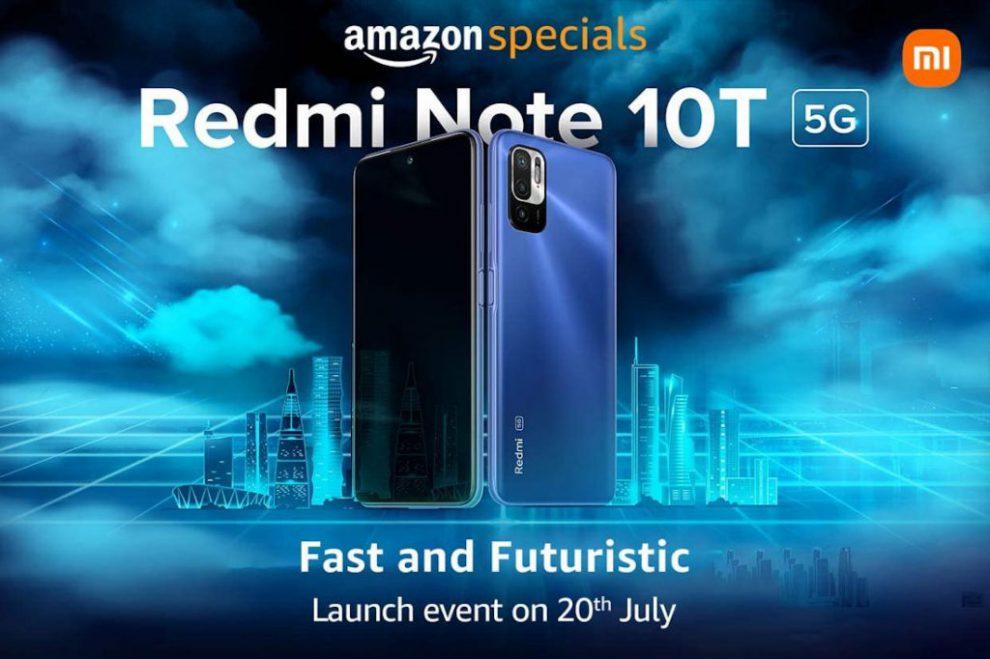 Redmi Note 10T 5G india launch