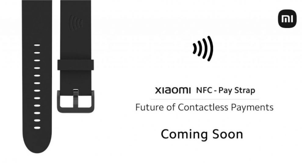 Xiaomi NFC Pay Strap contactless payments
