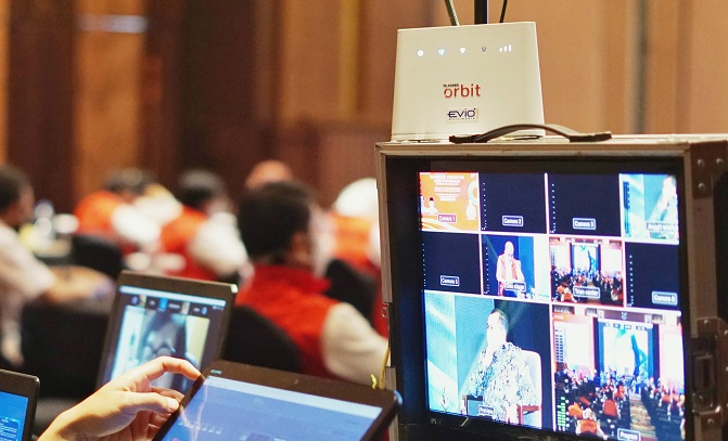 cara live streaming hemat kuota modem orbit telkomsel