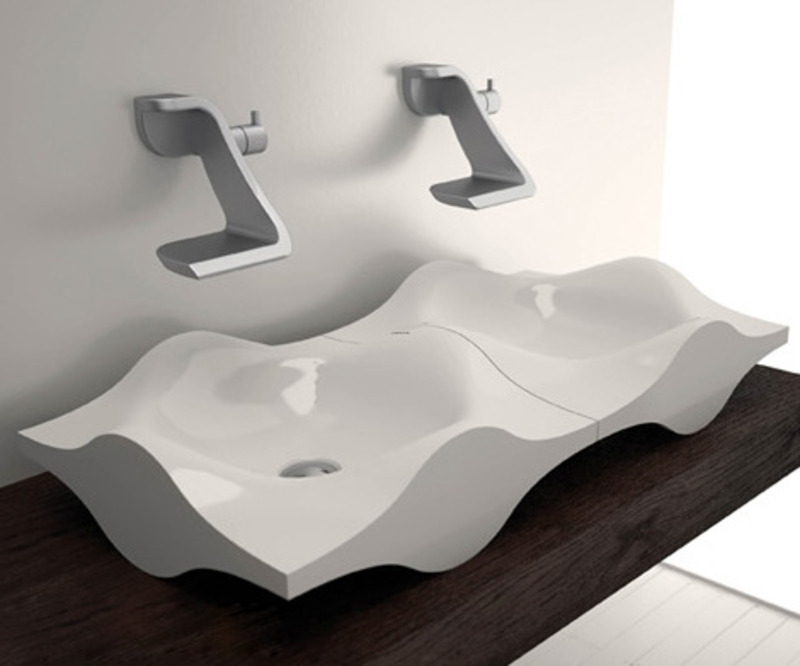 Bathroom Sink Design   EwdInteriors The exciting picture below  is part of 8 amazing designer bathroom sinks  write up which is categorized within Bathroom  toilet  bathroom ideas