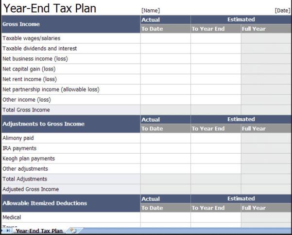 Estimate Your Tax Return 2017