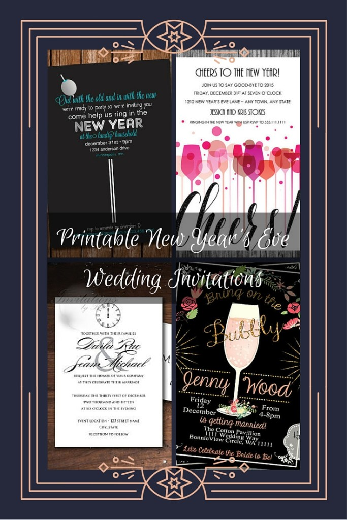 Printable Invitations Chevron