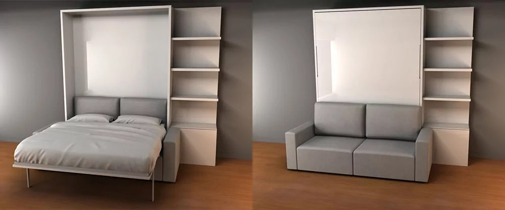 NYC Space Saving Furniture by Expand Furniture MurphySofa NYC wall bed sofa space saving furniture