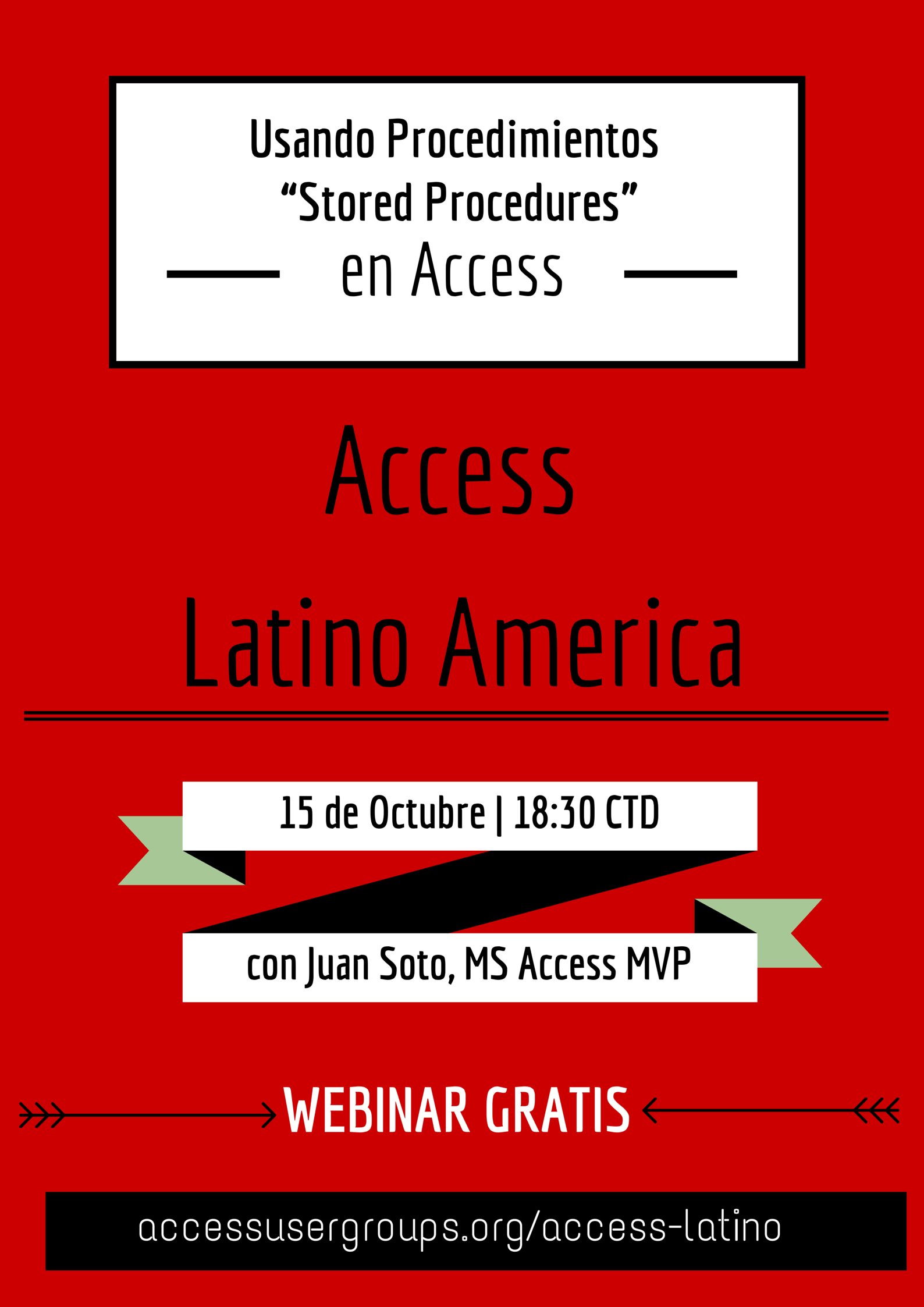 "Usando procedimientos ""Stored Procedures"" en Access – Latino America"