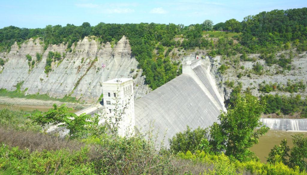 Year Morris Mount New Dam