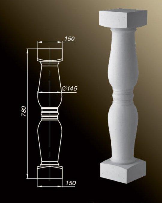 正確なベーシンのサイズのスケッチイメージ