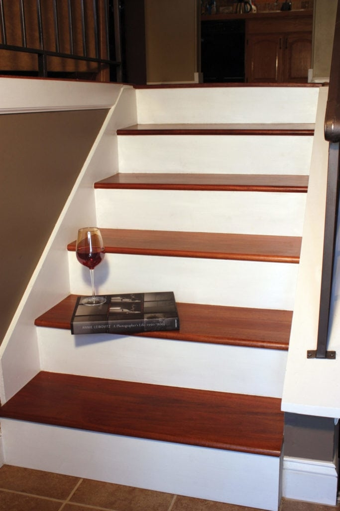 Remodel With Prefinished Stair Treads Extreme How To | Wood Look Vinyl Stair Treads | Shaw Floors | Laminate Flooring | Roppe | Tile | Vinyl Flooring