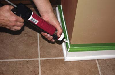 Caulking Lay A Better Bead Extreme How To