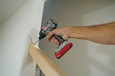 Building Basics For An Open Rail Balustrade Extreme How To | Attaching Handrail To Wall | Stair Parts | Brick | Wood | Staircase | Scr*W