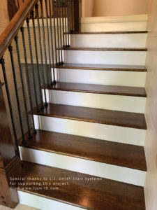 Remodeling A Staircase—Tread Riser And Stringer Replacement For   Replacement Wood Stair Treads   Stair Case   Prefinished Stair   Stair Parts   Risers   Stair Nosing