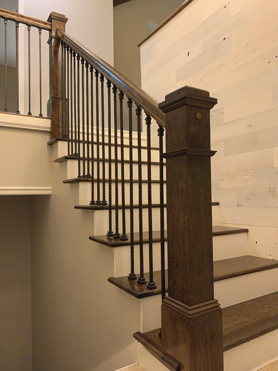 Diy Stair Rail Installation Extreme How To | Round Stairs Railing Design | Metal | Silver | Loft | Stainless Steel | Brown