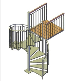 How To Build A Spiral Staircase Extreme How To | Spiral Staircase Wooden Steps | Tiny House | Wrought Iron | Rustic | Creative | 2 Story